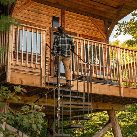 Station de montagne et plein air 4 saisons Au Diable Vert à Glen Sutton